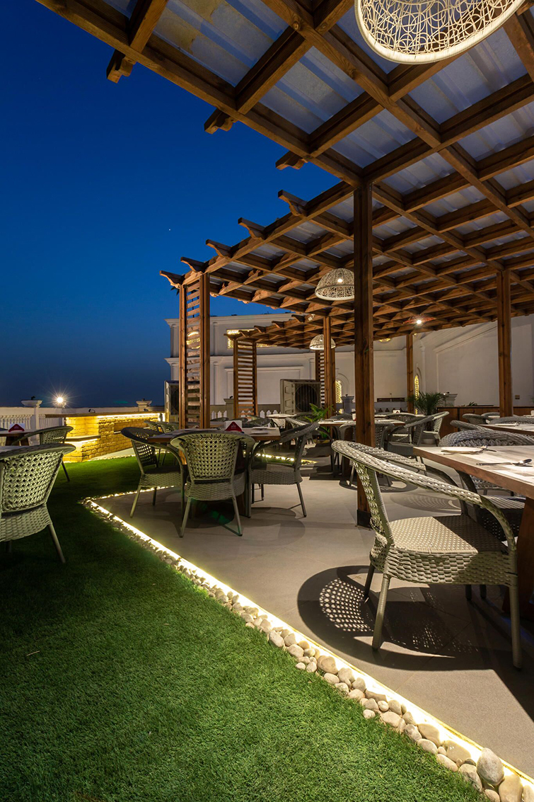 Concept Design And Execution For Rooftop Restaurant Bravura